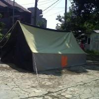 Tenda Pramuka Regu kap 10 siswa/ 8 dewasa bahan waterproof fullset