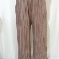 Celana Kulot Panjang Wanita Cewek Plisket Crepe Casual Import bangkok