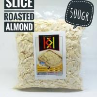 Slice Roasted Almond / Kacang Almond Iris Panggang 500gr