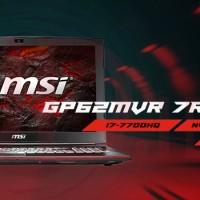MSI GP62MVR 7RFX- 663 W10HOME 16GB DDR4 GTX 1060 3GB DDR5