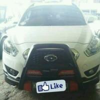 Tanduk depan Datsun Go with LED DRL.