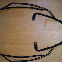 crashbar / bodybar / Pelindung Body Vespa GTS hitam