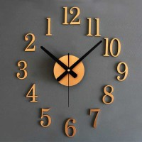 Jam dinding dekorasi ukuran besar antik bukan Seiko