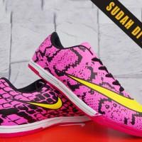 Nike Hypervenom Phantom II Putih Pink Hitam(sepatu futsal,soccer,bola)