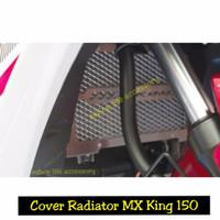 Aksesoris Cover Penutup Radiator original Yamaha Jupiter mx king 150 B