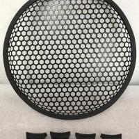 Grill speaker besi 10 inch hexagon