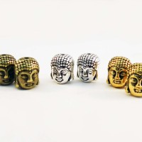 Buddha Head Spacer | Bahan Gelang / Kalung | Handmade Aksesoris