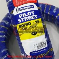 Ban Motor Tubeless Michelin Pilot Street 80/90 - 14 Vario Beat Scoopy