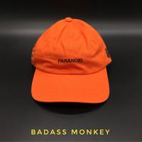 ASSC x Undefeated Paranoid Cap Orange Black