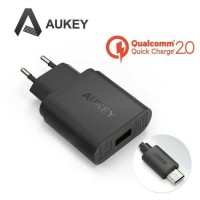 Aukey PA-U28 USB CHARGER 1 Port EU Plug 18W Qualcomm Quick Charge 2.0