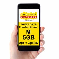 perdana/PAKET DATA INTERNET INDOSAT, INDOSAT FREEDOM COMBO M 5GB