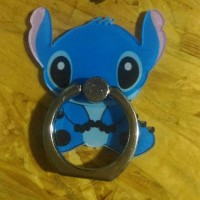 iRing/ Ring Holder / Cincin HP / Ring Stand Karakter Lucu Stitch
