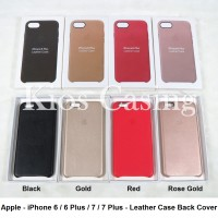 Apple iPhone 6 6S 6 Plus 7 7 Plus + - Leather Case Back Cover Casing