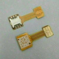 Double Dual SIM Card Adapter Converter for Android Extender 2 Nano SIM