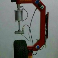 mesin press vulkanisir khusus ban radial tenaga angin