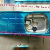 Bak cuci piring uk. 96x44x15 cm, sink, perlenfkapan dapur dan westafel