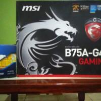 Core i7 3770 + MSI B75A-G43 Gaming + Avexir core ddr3 2x8Gb