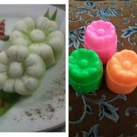 cetakan kue sakura/bolu kukus/putu ayu/talam/pudding