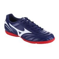Sepatu Futsal Mizuno P1GF172314 Monarcida 2 Fs In (Wide) Blue Depths/W