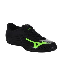 Sepatu Futsal Mizuno P1GF166435 Basara 103 In (Wide) Black/Green Gecko