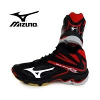 Sepatu Volly / Voli Mizuno V1GA170501 Wave Lightning Z3 Mid Black Whit