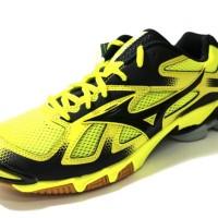 Sepatu Volly / Voli Mizuno V1GA166001 Wave Bolt 5 Bolt Black Black