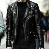 jaket pria semi kulit casual style