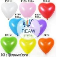 Balon Latex Love / Hati