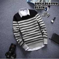 Baju Rajut Korea Pria / Rajut Sweater Polos / Sweater Rajutan Murah