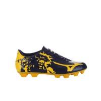 Sepatu Bola Mizuno P1GA179045 Ryuou Md Peacoat/Gold Fusion