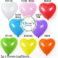 balon latek love / hati