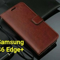 Flip Cover Samsung Galaxy S6 Edge plus   S6Edge + Wallet Leather Case