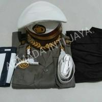 Seragam Anak Jenderal Polisi Laki Lantas ukuran 5-6 l Baju Karnaval