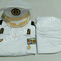 Seragam Anak Jenderal TNI AL ukuran 5 - 6 l Baju Karnaval l Kostum Ana