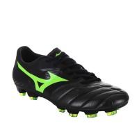 Sepatu Bola Mizuno P1GA166535 Basara 101 Kl Black/Green Gecko