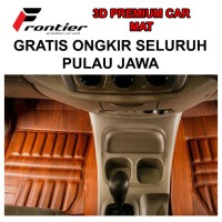 Karpet Mobil 3D Custom FRONTIER MIRAGE AUTOMATIC 2012 - NOW