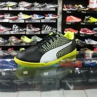 Sepatu Futsal/Sepatu Olahraga / Sepatu Puma Adreno III IT Black