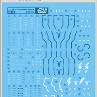 [DL] Water Decal RG 00 SEVEN SWORD 1/144 Gundam