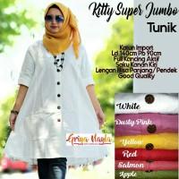 Baju Atasan Wanita Muslim Blouse Kitty Super Jumbo Tunik