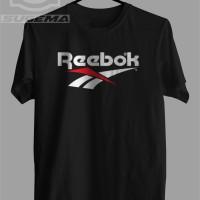 Kaos - Baju - Tshirt Reebok 01 - Abu-abu Muda, XXL