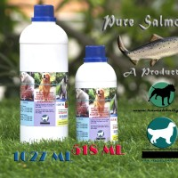 Dog & Cat Raw Food - Pure Salmon Oil 1027ml