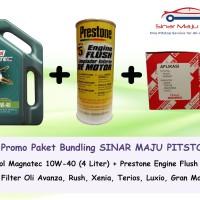 Paket Ganti Oli Mobil TOYOTA RUSH - Castrol Magnatec + Filter + Flush