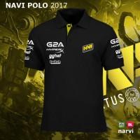 Polo Shirt Navi Logo 2017 | Baju Kaos Jersey Na'vi Gaming Dota 2 Dota2