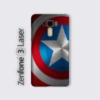 Hard case Asus Zenfone 3 laser ZC551KL Custom Case Captain America