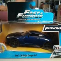 Diecast Car Jada Fast Furious 1:32 Scale Skyline R-35 Blue NEW MIB