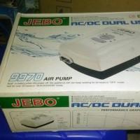 aquarium airpump air pump aerator jebo 9970 intelligent ac/dc