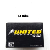 Ban Dalam Sepeda 16 x 1.75 - 2.125 United