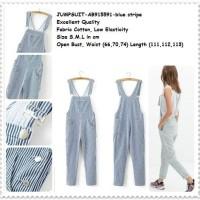 Jumpsuit Overall Celana Kodok Kulot Wanita Baju Pakaian Korea Import