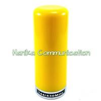 Unier Antena Radio Rig Mobil Pelor Dualband Kuning Pendek Handie Talky