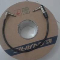 kabel jumper efek gitar 15 cm canare